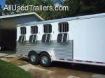 used horse trailer for sale - 22ft featherlite horse trailer