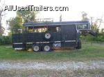 tack room - gooseneck horse trailer for sale & living quarters