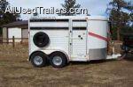 2007 Fetherlite Horse / Stock Trailer for sale